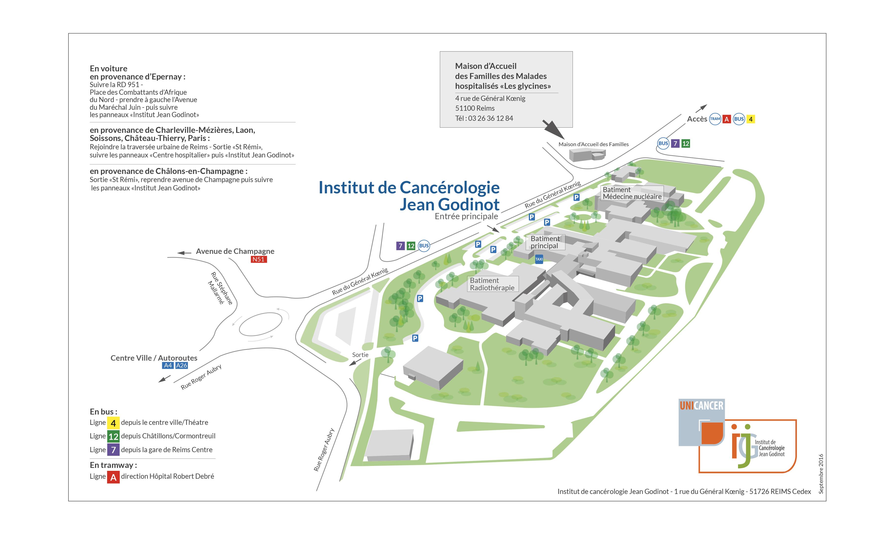Institut De Canc 233 Rologie Jean Godinot